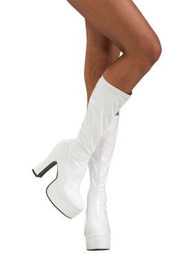 Sexy White Boots