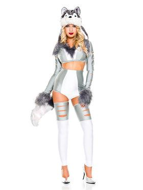 Classic Sexy Wild Wolf Woman Costume