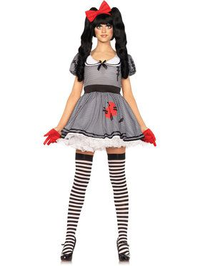 Sexy Wind-Me-Up Dolly Women's Costume