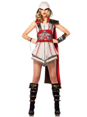 Sexy Women's Assassin's Creed Ezio Girl Costume