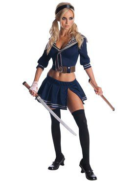 Sexy Womens Baby Doll Sucker Punch Costume