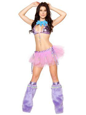 Sexy Women's Be Mine Beaded Tutu