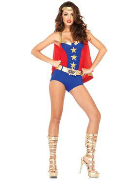 Sexy Women's Comic Book Girl Costume