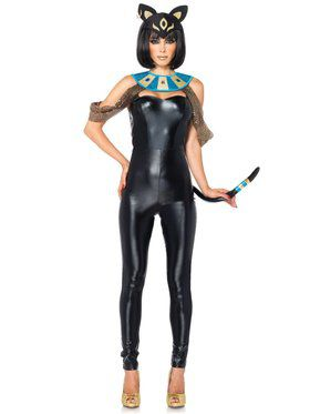 Sexy Women's Egyptian Cat Goddess Costume