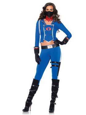 Sexy Women's G.I. Joe Cobra Girl Costume