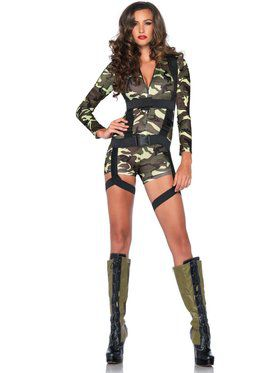 Sexy Women's Goin' Commando Costume