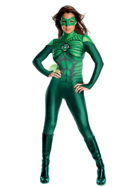 Sexy Women's Green Lantern Uniform Costume