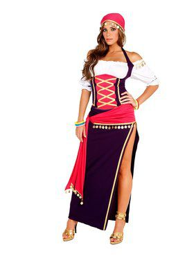 Sexy Women's Gypsy Costume