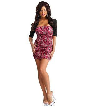 Sexy Womens Jersey Shore Snooki Costume