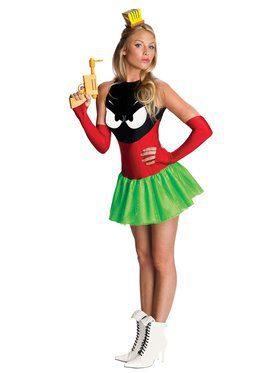 Sexy Womens Marvin the Martian Costume