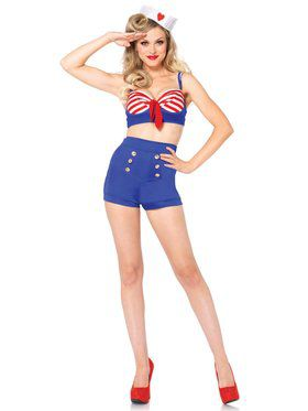 Sexy Women's On Deck Darling Costume