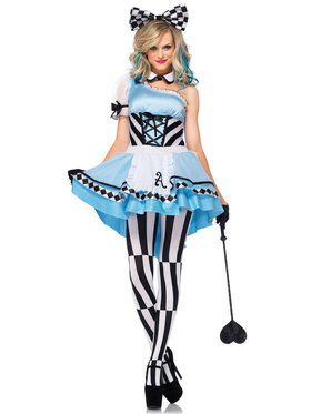 Sexy Women's Psychedelic Alice Costume