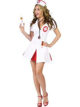 Sexy Women's Say Ahhhhh! Nurse Costume
