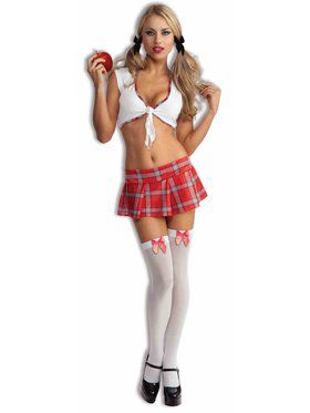 Sexy Womens School Girl Costume