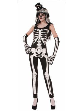 Sexy Womens Skeleton suit Costume