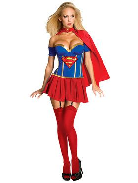 Sexy Womens Supergirl Costume
