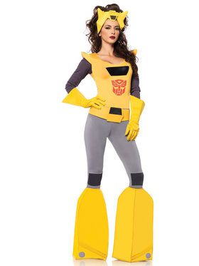 Sexy Women's Transformers Bumble Bee Costume