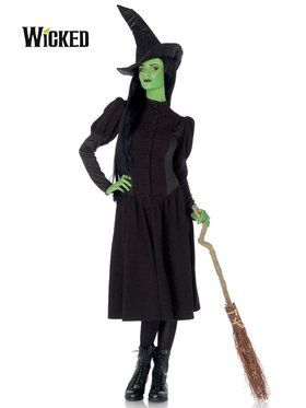 Sexy Women's Wicked Witch of the West Elphaba Costume