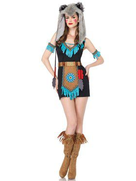 Sexy Women's Wolf Warrior Costume