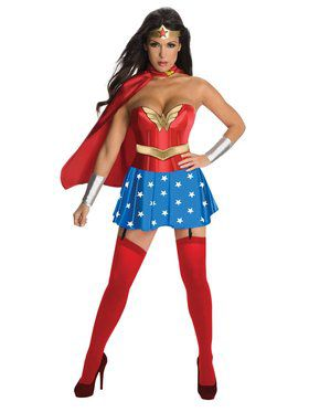 Sexy Womens Wonder Woman Costume