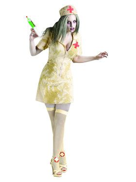 Sexy Women's Zombie Nurse Costume