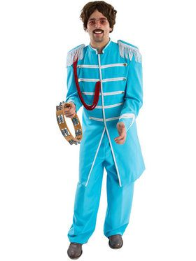 Sgt. Peppers Blue Men's Costume
