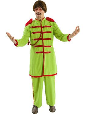 Sgt. Peppers Green Men's Costume