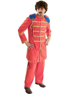 Sgt. Peppers Orange Men's Costume