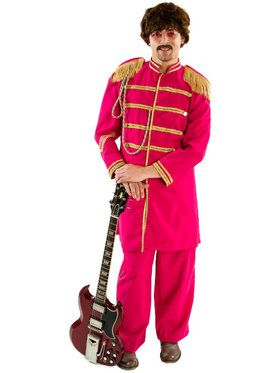 Sgt. Peppers Red Men's Costume