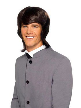 Shag Man's 1970's Brown Wig