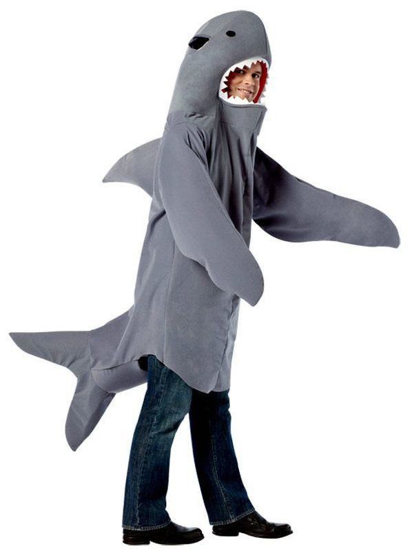 Shark Adult Costume  sc 1 st  Wholesale Halloween Costumes & Shark Adult Costume - Mens Costumes for 2018 | Wholesale Halloween ...