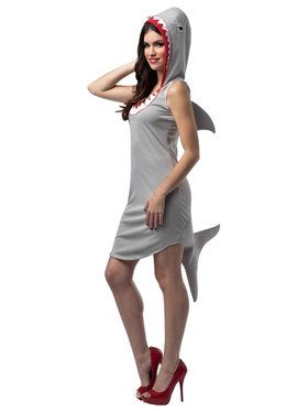 Shark Dress Costume For Adults