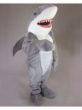 Shark Mascot Adult's Mascot Costume