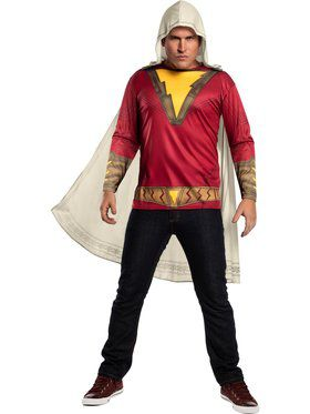 Shazam Top Costume for Adults