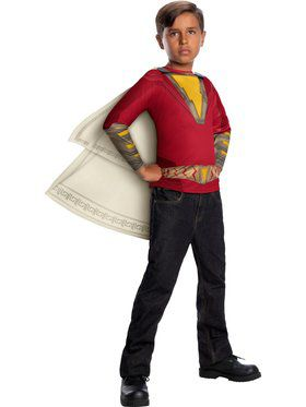 Shazam Top Costume for Kids