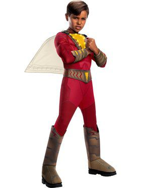 Shazam Deluxe Costume with Lights