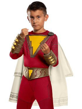 Kid's Shazam Belt and Gauntlet Set