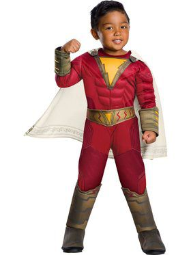 Shazam Deluxe Toddler Costume