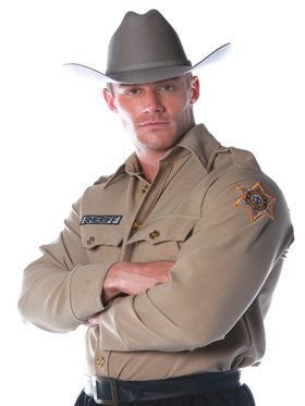 Sheriff Shirt Men's Costume