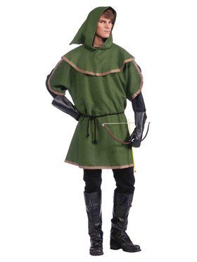 Sherwood Archer Men's Costume