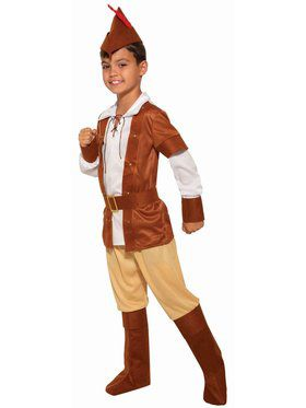 Sherwood Huntsman Small Child Costume