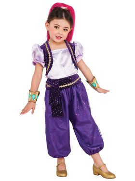 Shimmer and Shine Deluxe Shimmer Youth Costume