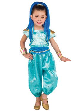Shimmer and Shine Deluxe Shine Costume Toddler