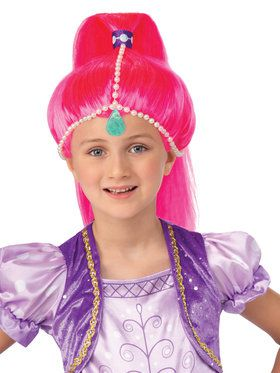 Girls Shine Genie Wig