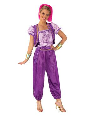 Shimmer and Shine Deluxe Shimmer Costume for Adults