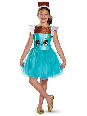 Shopkins Cheeky Chocolate Classic Girl's Costume