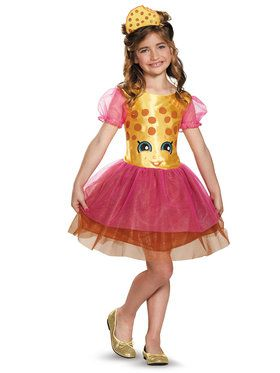 Shopkins Kookie Cookie Classic Girls Costume