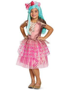 Child Deluxe Peppa-Mint Costume - Shopkins Shoppies