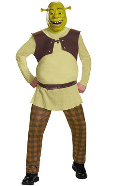 Shrek Deluxe Men's Costume