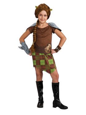 Shrek Fiona Warrior Costume